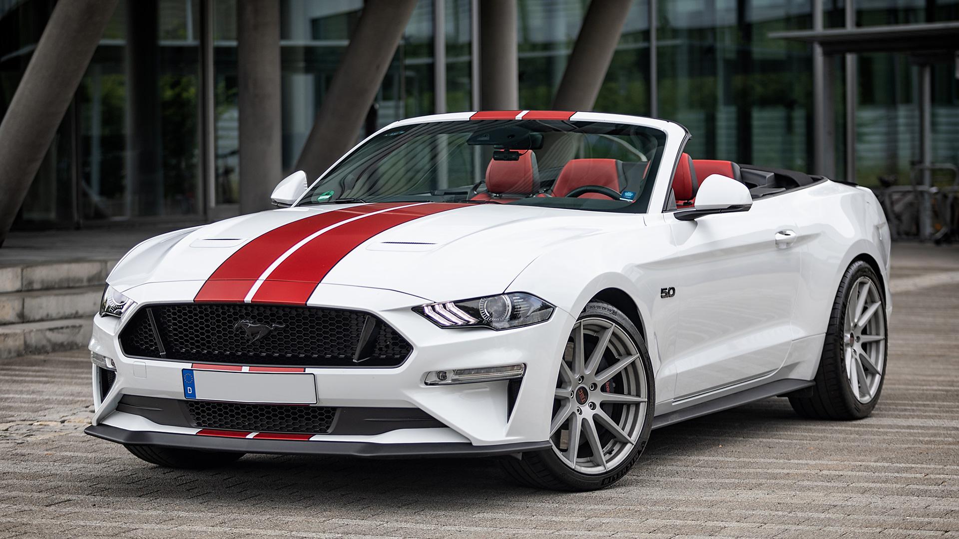 Ford Mustang Ausfahrt