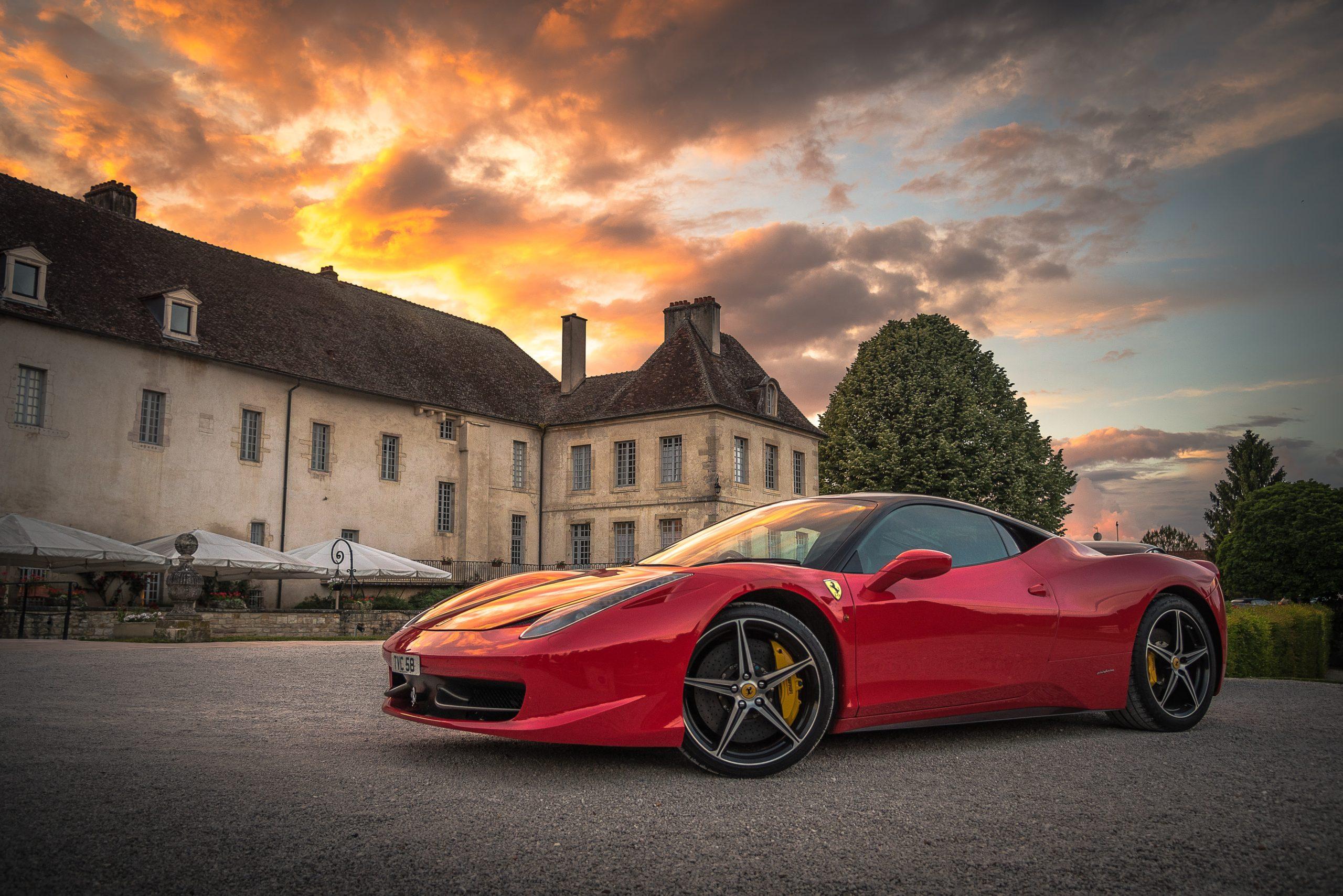 Ferrari Ausfahrt