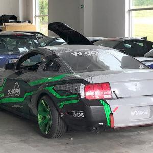 Ford Mustang Sternfahrt zu Schropp Tuning
